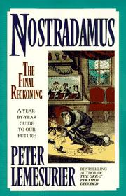 Nostradamus by Peter Lemesurier