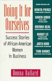Cover of: Doing it for ourselves | Donna Ballard