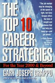 Cover of: The top 10 career strategies for the year 2000 & beyond | Gary Joseph Grappo