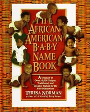 Cover of: The African-American baby name book