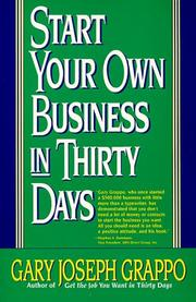 Start your own business in thirty days