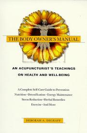 Cover of: The body owner
