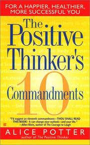 Cover of: The Positive Thinker's 10 Commandments