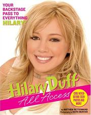 Cover of: Hilary Duff: All Access