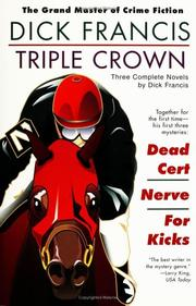 Cover of: Triple crown | Dick Francis