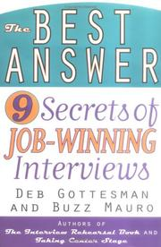 Cover of: The best answer