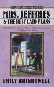Cover of: Mrs. Jeffries and the Best Laid Plans