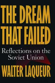 Cover of: The dream that failed: reflections on the Soviet Union