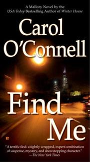 Cover of: Find Me