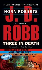 Cover of: Three in Death