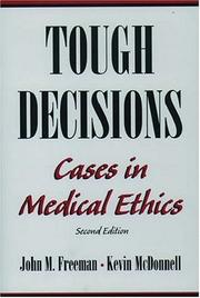 Cover of: Tough Decisions | John M. Freeman