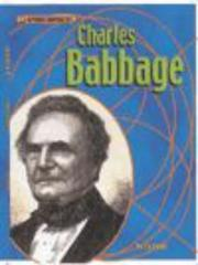 Cover of: Charles Babbage (Groundbreakers)