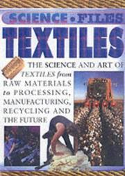 Cover of: Textiles (Science Files)