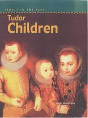Cover of: Tudor Children (People in the Past)