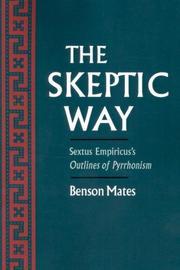 sextus empiricus bett richard