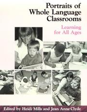 Cover of: Portraits of Whole Language Classrooms