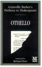 Cover of: Granville Barker's Prefaces to Shakespeare