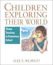 Cover of: Children exploring their world