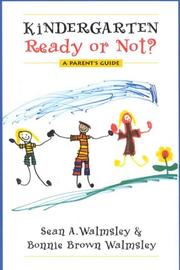 Cover of: Kindergarten