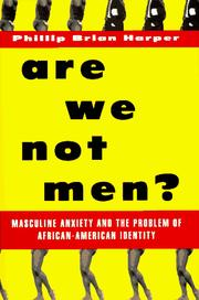 Cover of: Are we not men?