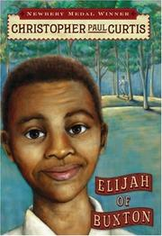 Cover of: Elijah of Buxton