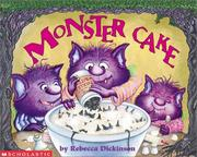 Cover of: Monster cake