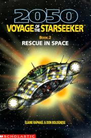 Cover of: Rescue in space | Elaine Raphael