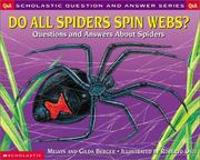 Cover of: Do All Spiders Spin Webs?