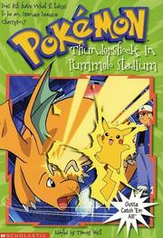 Cover of: Thundershock in Pummelo Stadium (Pokemon Chapter Book, 16) | Tracey West