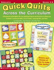 Cover of: Quick Quilts Across the Curriculum (Grades 3-6)