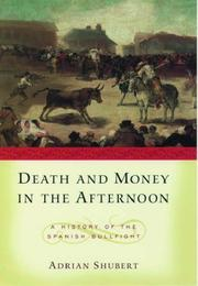 Cover of: Death and Money in The Afternoon