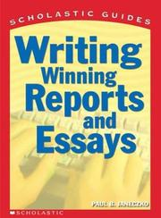 Cover of: Writing winning reports and essays