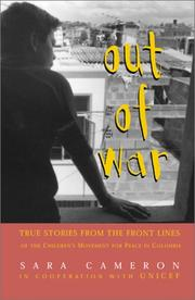 Cover of: Out of War
