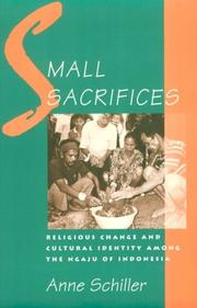 Cover of: Small sacrifices