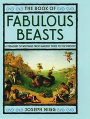 Cover of: The book of fabulous beasts |