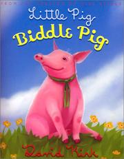 Cover of: Little pig, Biddle pig