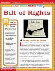Cover of: Bill of Rights (Instant Internet Activities Folder) |
