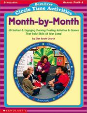 Cover of: Best-ever Circle Time Activities