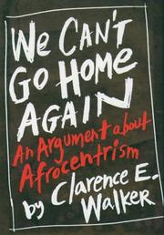Cover of: We can't go home again