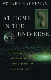 At home in the universe by Stuart A. Kauffman
