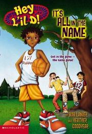 Cover of: It's all in the name | Bob Lanier