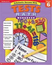 Cover of: Scholastic Success with Tests | Michael Priestley