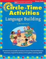 Cover of: Best-Ever Circle Time Activities: Language Building