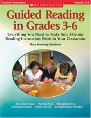 Cover of: Guided Reading in Grades 3-6 | Mary Browning Schulman