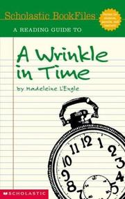 Cover of: reading guide to A wrinkle in time, by Madeleine L