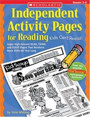 Cover of: Independent Activity Pages For Reading Kids Can