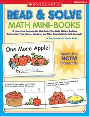Cover of: Read & Solve Math Mini-Books | Tracy Jarboe
