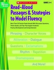 Cover of: Read-Aloud Passages & Strategies to Model Fluency: Grades 3-4 | Danielle Blood