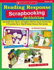 Cover of: Reading Response Scrapbooking Activities