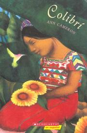 Cover of: Colibrí